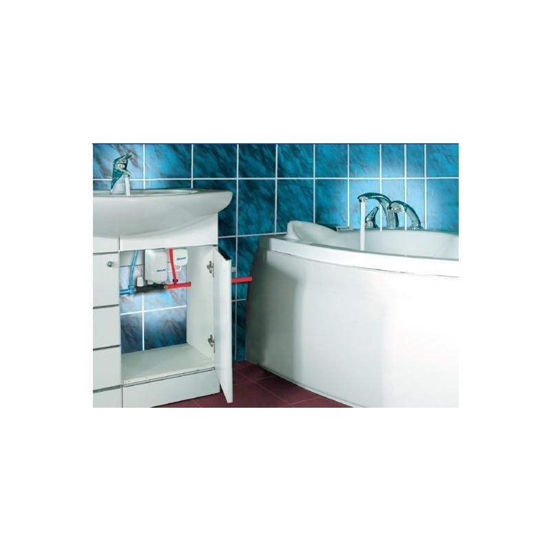 Mini scaldacqua dafi unifase 7 3 kw 230 v con il connettore for Scalda acqua istantaneo elettrico