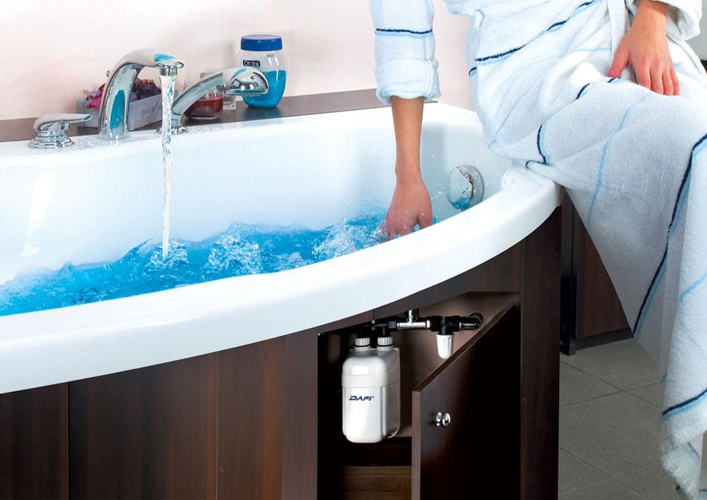 scalda acqua instantaneo elettrico con rubinetto dafi prodotto italia ufficiale ebay. Black Bedroom Furniture Sets. Home Design Ideas