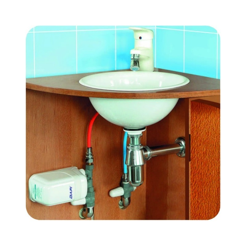 Incroyable Dafi Water Heater 9 Kw 400 V With Pipe Connector Under Sink. Insinkerator Instant  Hot ...