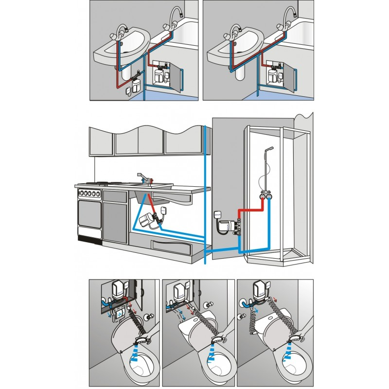Dafi Water Heater 9 Kw 400 V Under Sink Electric Instantaneous