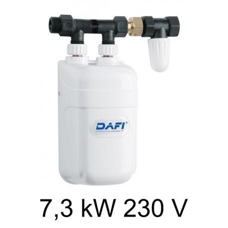 Chauffe-eau instantané électrique DAFI 7,3 kW 230V - sous l'évier (monophasé)
