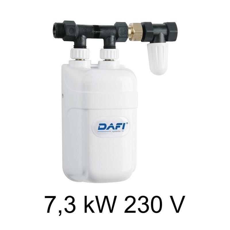 ... Scalda Acqua Elettrico Istantaneo DAFI 7,3 KW 230V   Sotto Il Lavello  (monofase