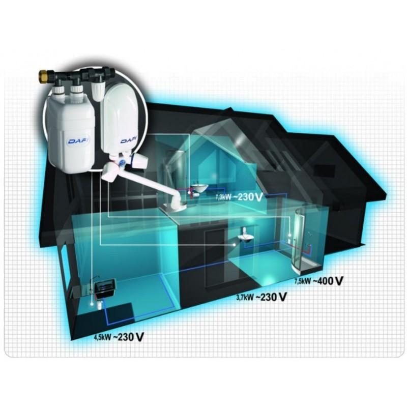 dafi 3 7 kw 230 v monophas sans robinet l ment de chauffe seul. Black Bedroom Furniture Sets. Home Design Ideas