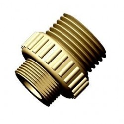 Dafi reduction nipple - brass M18x2 / 3/8""