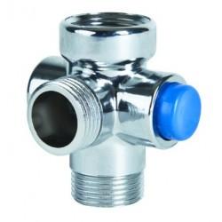 Interruptor de ducha DAFI - color de cromo