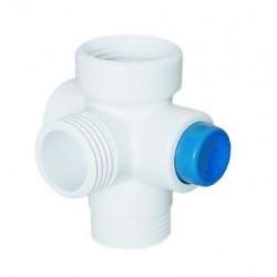 Interruptor de ducha DAFI - color blanco