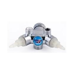 Cuerpo del grifo DAFI con válvulas - color cromo