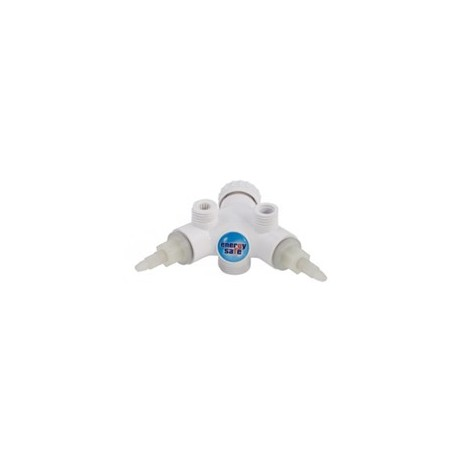 Dafi monobloc corpus with valves - white