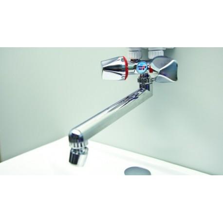 Armatur Dafi mit Wasserauslass und Strahlregler- Farbe Chrom