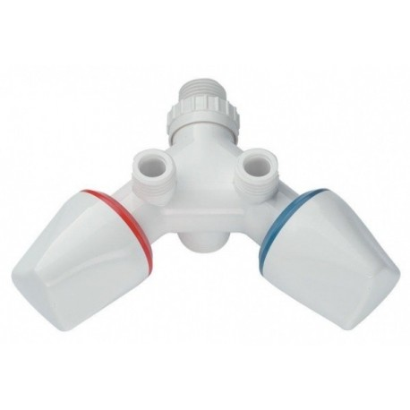 Dafi monobloc without running spout - white