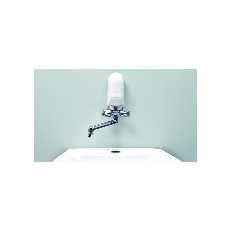 4 5 kw dafi 230 v avec robinet en plastique couleur chrome. Black Bedroom Furniture Sets. Home Design Ideas
