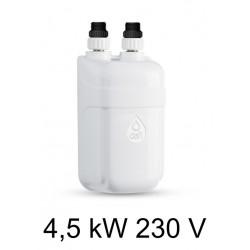 Calentador de agua DAFI de 4.5 kW 230 V (monofásico) sin batería (solamente el elemento de calefacción)