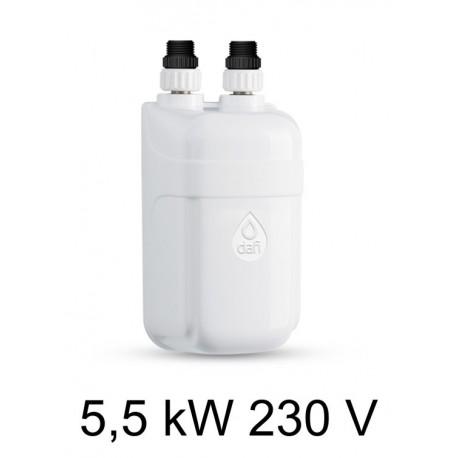 Calentador de agua DAFI de 5.5 kW 230 V (monofásico) sin batería (solamente el elemento de calefacción)