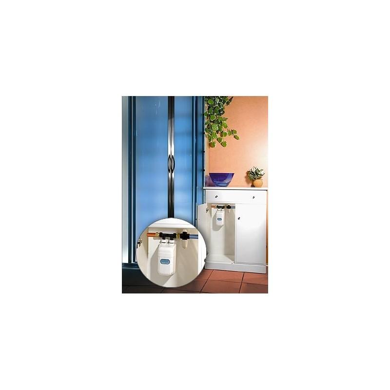 der einphasige kleindurchlauferhitzer dafi 7 3 kw 230 v mit dem anschluss. Black Bedroom Furniture Sets. Home Design Ideas