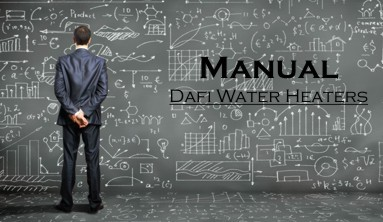 Manual Dafi water heaters