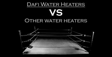 Dafi water heaters vs other water heaters