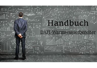 Manuelle Dafi-Warmwasserbereiter